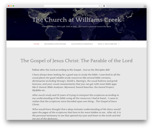 Gateway - WordPress.com WordPress page template - thechurchatwilliamscreek.com