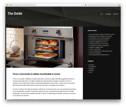 Gibson WP template - thedside.it