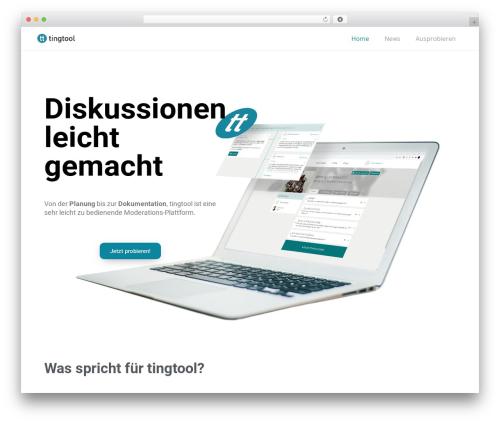 Impreza WP template - tingtool.info