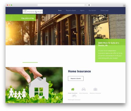 Insurance WordPress Theme WordPress theme - theinsmkt.com