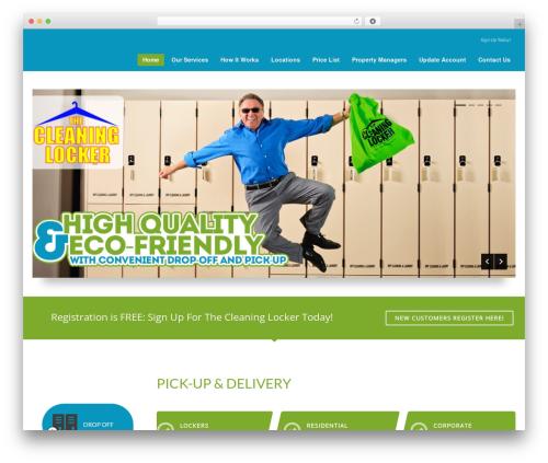 Kallyas Child Theme WordPress theme - thecleaninglocker.com