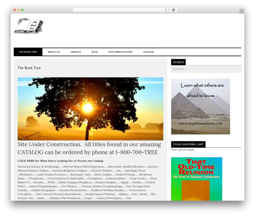 laveo best free WordPress theme - thebooktree.com
