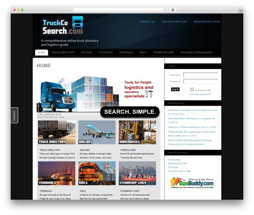Template WordPress Custom Community - truckcosearch.com/main