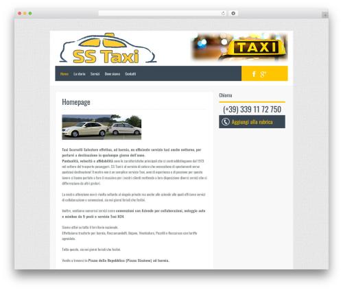 Template WordPress Oceanus - taxisernia.com