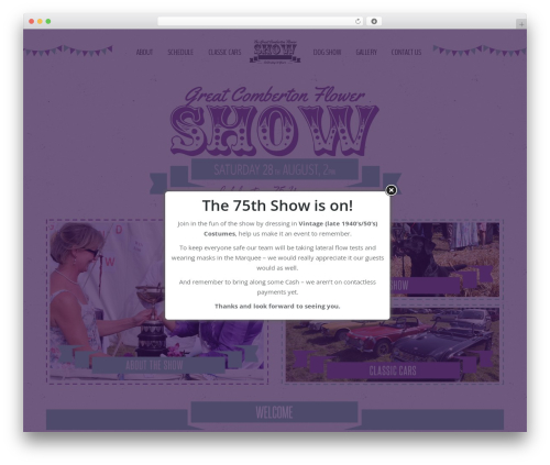 The7 WP template - theflowershow.org.uk