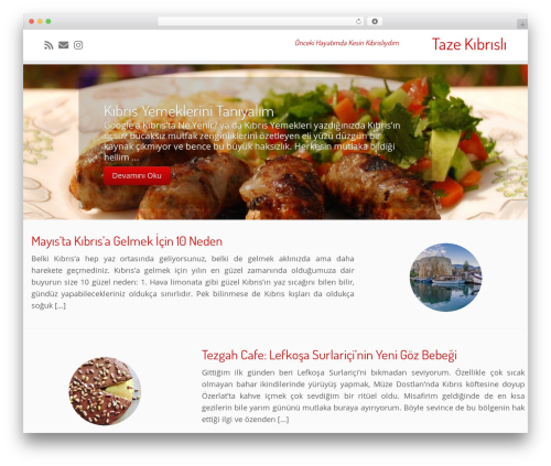 Theme WordPress Customizr - tazekibrisli.com