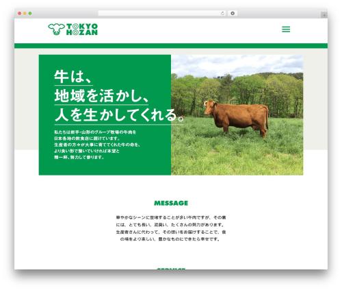 White Room WordPress theme - tokyo-houzan.com