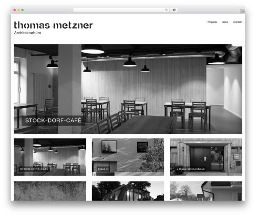WordPress theme Klasik - thomasmetzner.eu