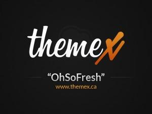 WordPress theme OhSoFresh