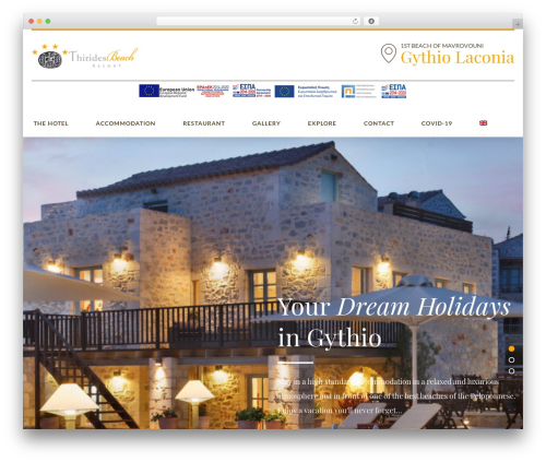 WP theme Hotelcalifornia - thirides.com