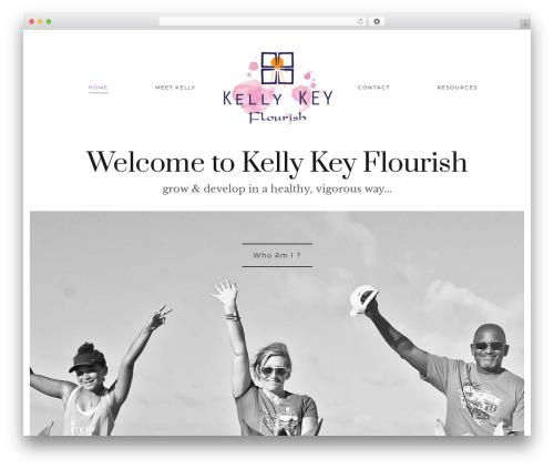 Aesthetic Child top WordPress theme - kellykeyflourish.com