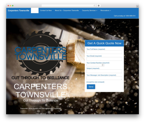 CITYscape WordPress template for business - carpenterstownsville.com