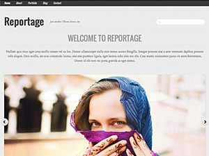 Reportage best WordPress magazine theme