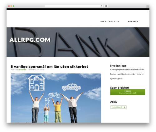 Restaurant Advisor WordPress restaurant theme - allrpg.com