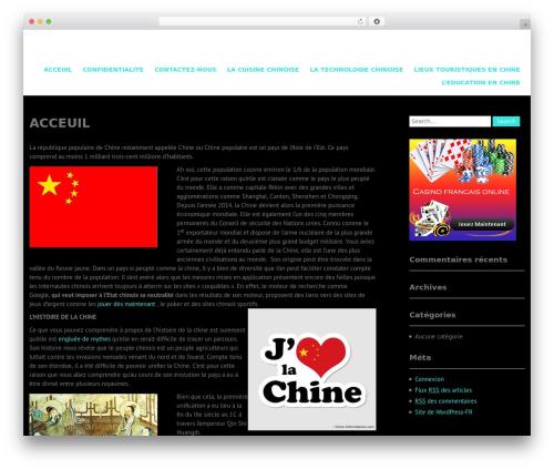 WordPress template Campus Lite - sho-zai.com