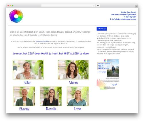 WordPress theme laveo - dietist-denbosch.com