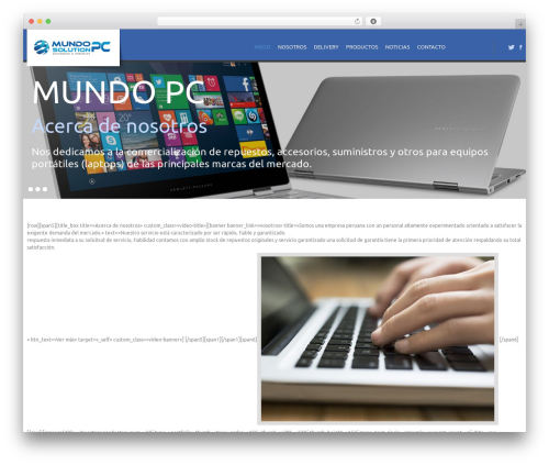 WP template cherry - mundopcperu.com