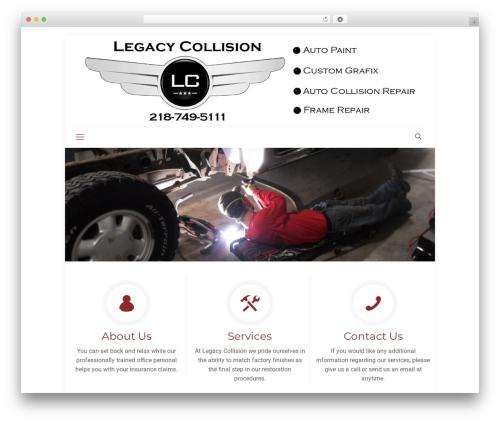 Betheme automotive WordPress theme - legacycollision.com