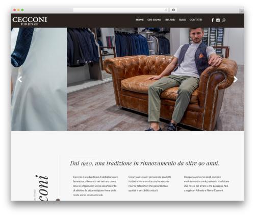 Cecconi Theme WordPress theme - abbigliamentocecconi.com