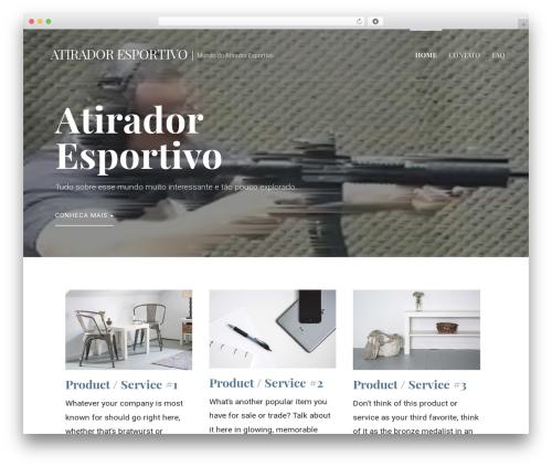 WordPress template Primer - atiradoresportivo.com