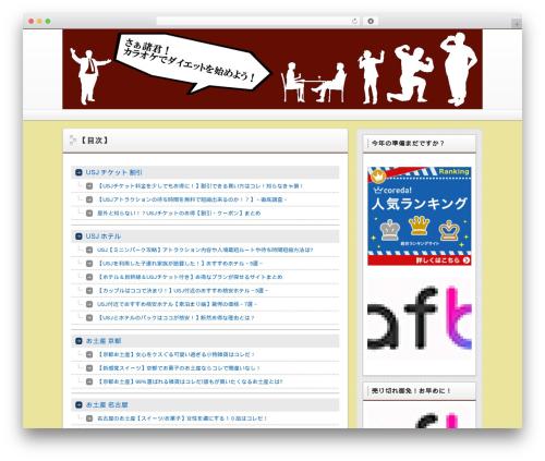 Free WordPress PS Auto Sitemap plugin - karaoke-diet.com