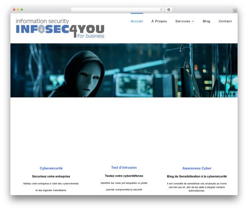 Best WordPress theme Avada - infosec4you.com