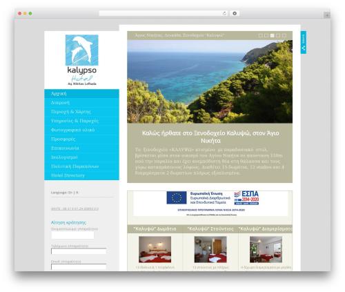 Foundation WordPress theme - kalypsohotel.com