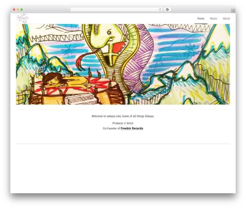 Hometard WordPress theme design - sekaya.com