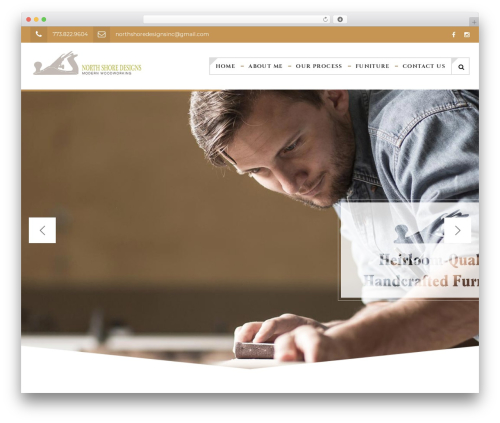 TM Wood Worker WordPress template - northshore-designs.com