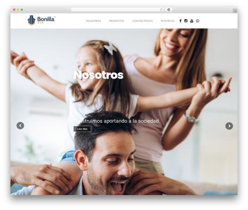 WordPress theme Domik - bonillazea.com