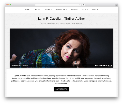 Template WordPress The Thinker Theme - lynncasella.com