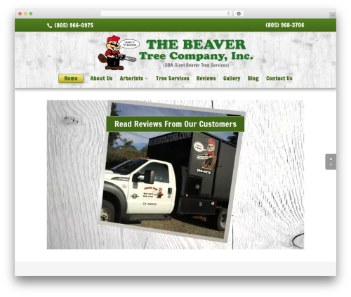 Theme WordPress Divi - beavertreesb.com