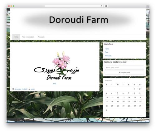 LineDay free website theme - doroudifarm.com