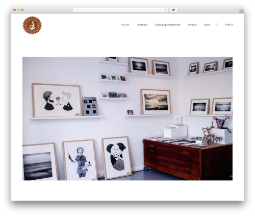 SolarWind best WordPress theme - sous-cafeine.com