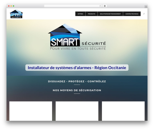 The Ocean top WordPress theme - smart-securite.com