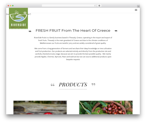 Theme WordPress Awe-Ambrosia - riversidefruits.com