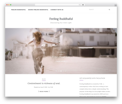 Activello best free WordPress theme - jaszgillblog.com
