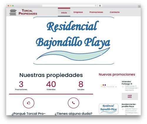 Bellaina WordPress theme - torcalpropiedades.com