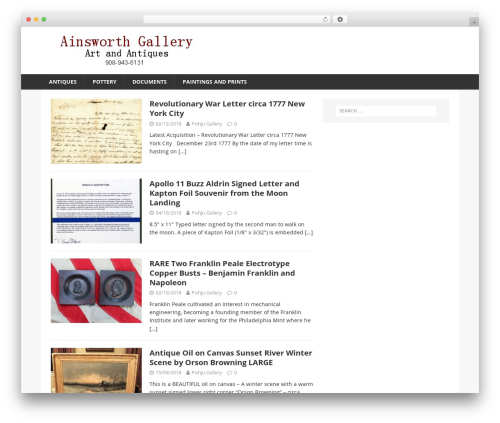 Financial News WordPress news template - ainsworthgallery.com