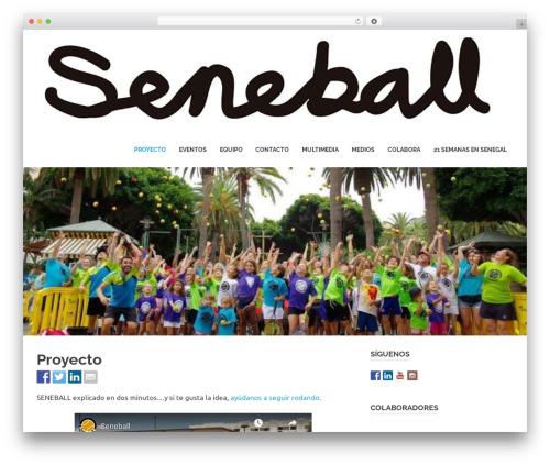 Poseidon free website theme - seneball.com