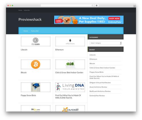 Reviewgine Affiliate WordPress template free download - previewshack.com