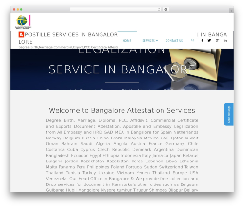 Template WordPress Fluida - bangaloreattestation.com