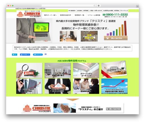 WordPress theme theme029 - christy-chintai.com