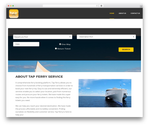 Best WordPress theme Rentify - tapferry.com
