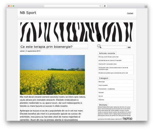 Best WordPress theme Zeeb - nbsportsshoes.com