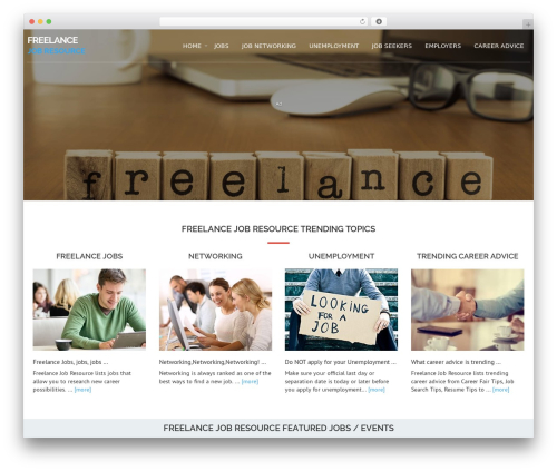 Theme WordPress Avion - freelancejobresource.com