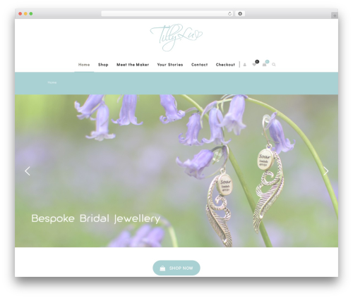 Zass WordPress theme - tilly-lu.com