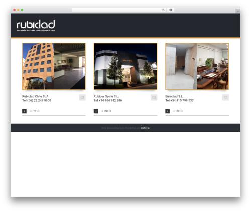 Avada WordPress theme - rubiclad.com