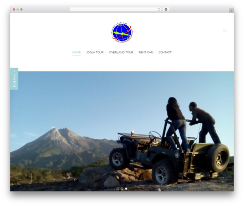 Chester WordPress page template - javabalioverland.com