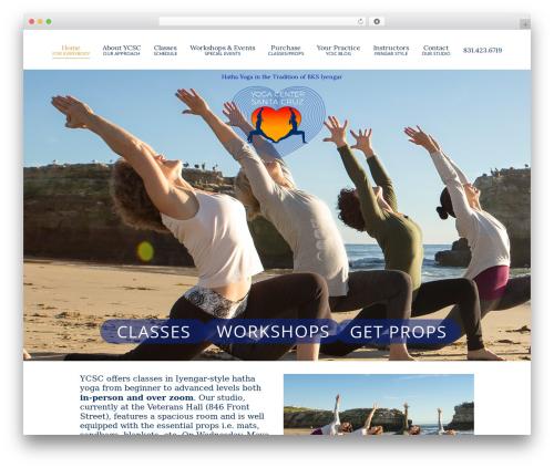 Chester WordPress shop theme - yogacentersantacruz.com